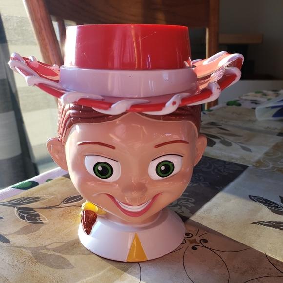 Toy Story Jessie Cowgirl Flip Lid Mug Disney On Ic
